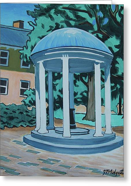Unc Old Well Greeting Card