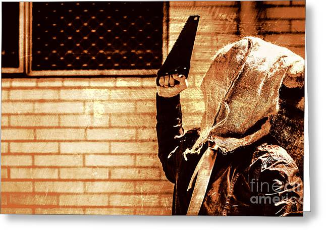 Uncle Chop Chop Greeting Card by Jorgo Photography - Wall Art Gallery