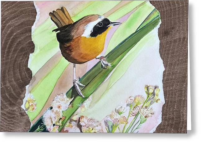 Uncommon Yellowthroat Greeting Card