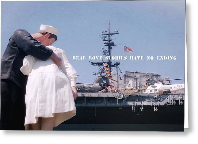 Unconditional Quote Greeting Card by JAMART Photography
