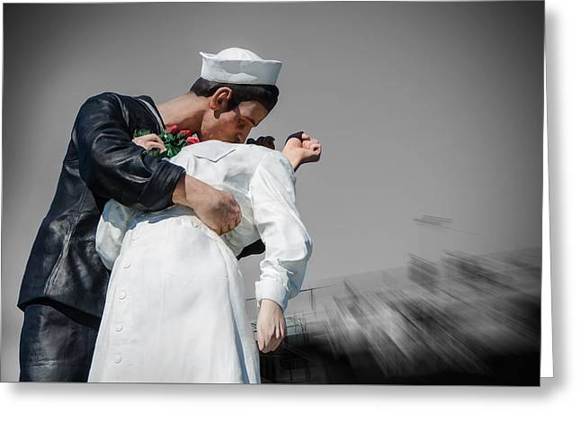 Unconditional Surrender 1 Greeting Card