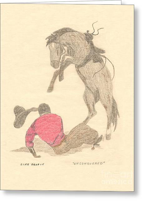Unconquered Greeting Card