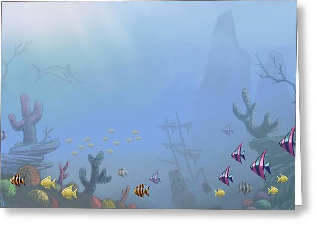 Under Sea 01 Greeting Card