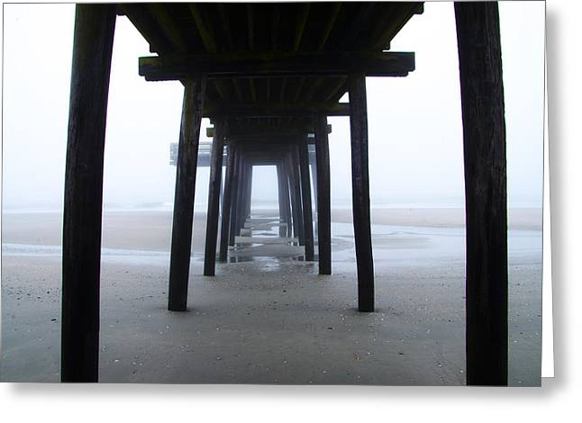 Under The Boardwalk Greeting Card by Bill Cannon
