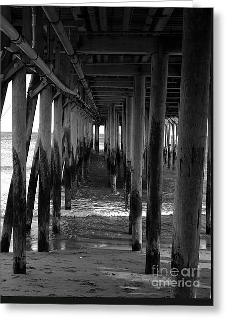 Under The Boardwalk Greeting Card