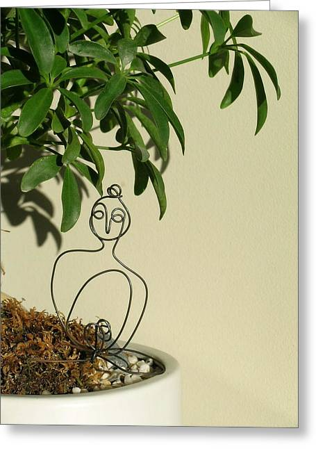 Under The Bodhi Tree Greeting Card