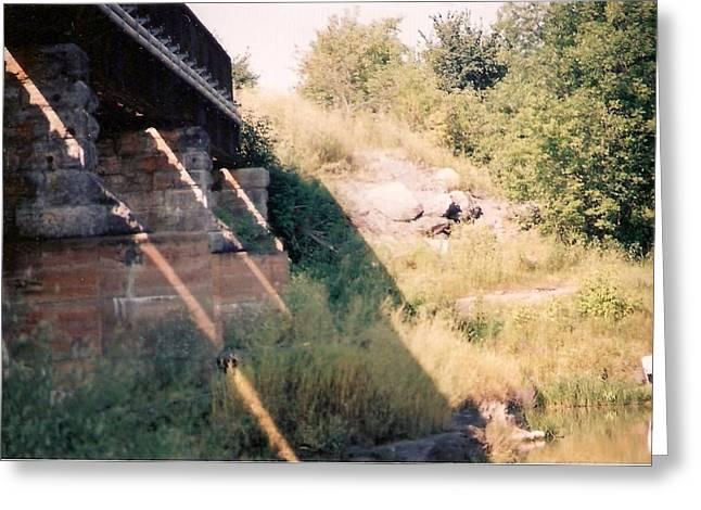 Under The Bridge - Photograph Greeting Card by Jackie Mueller-Jones