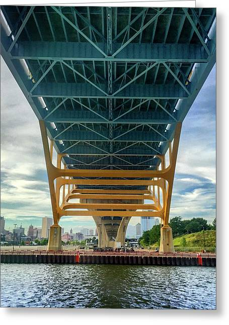 Under The Bridge Downtown Greeting Card