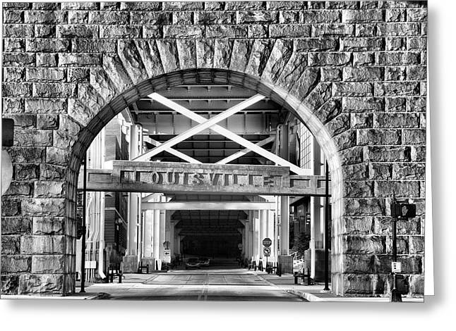 Under The Bridge I Greeting Card by Steven Ainsworth
