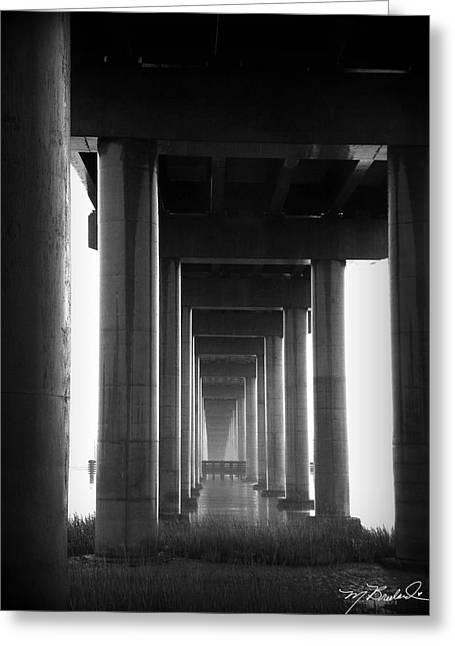 Under The Bridge Greeting Card by Melissa Wyatt