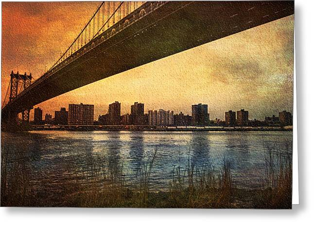 Under The Bridge Greeting Card by Svetlana Sewell