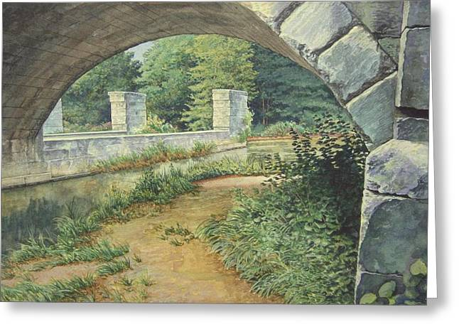 Under The Erie Canal Greeting Card by Stephen Bluto