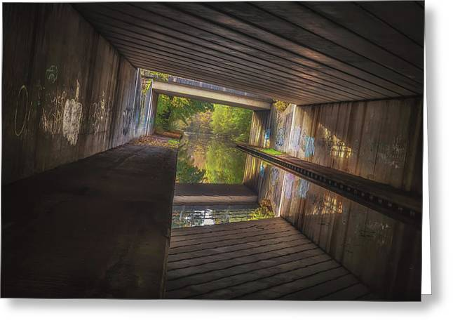 Under The M42 Greeting Card by Chris Fletcher
