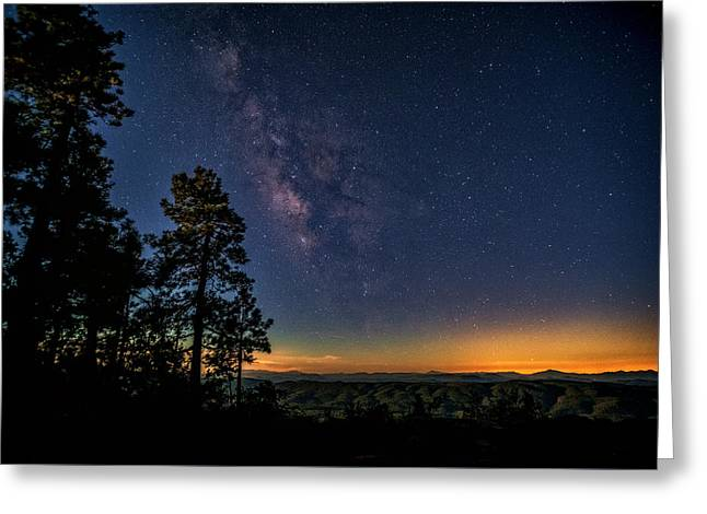 Greeting Card featuring the photograph Under The Milky Way  by Saija Lehtonen