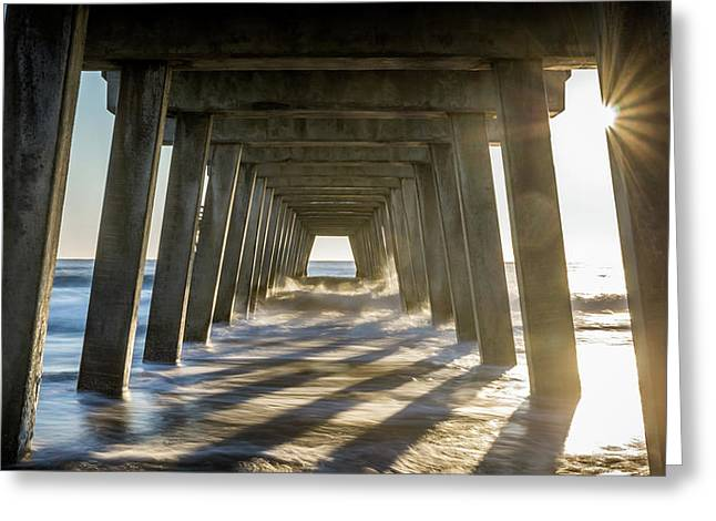 Under The Pier #2 Greeting Card