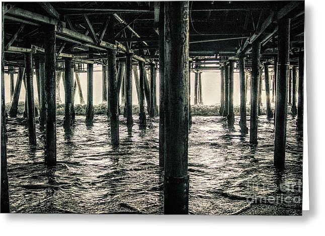 Under The Pier 3 Greeting Card