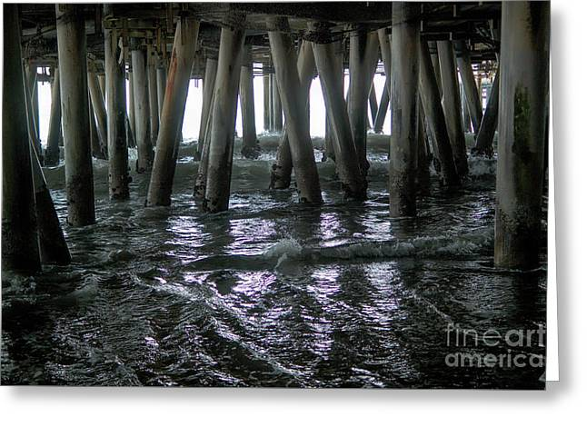 Under The Pier 4 Greeting Card