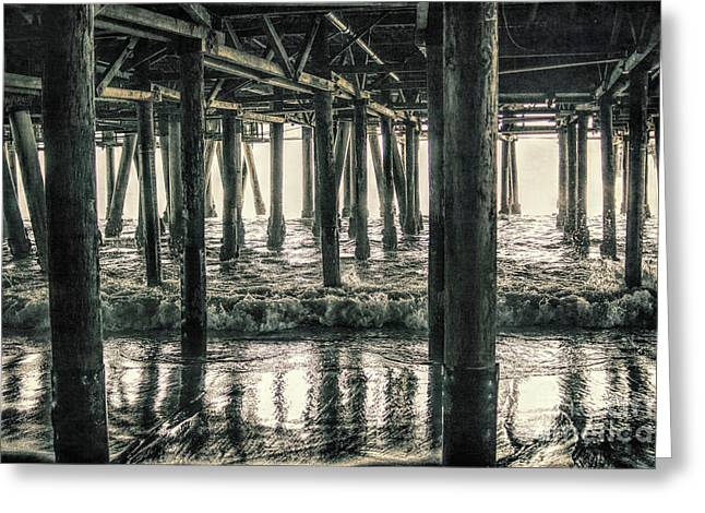 Under The Pier 5 Greeting Card