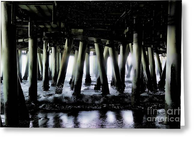 Under The Pier 6 Greeting Card