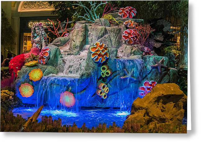 Under The Sea - Bellagio Conservatory - Las Vegas Nevada Greeting Card