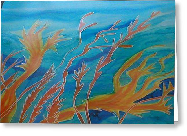 Under The Sea Greeting Card by Christine  Davis