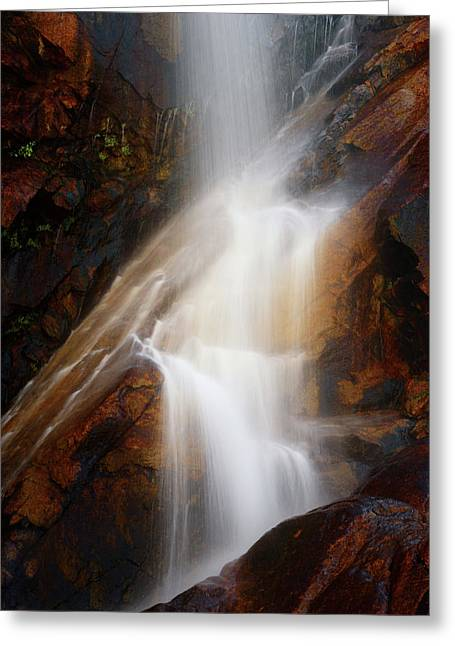 Under The Vaille Greeting Card by Rick Furmanek
