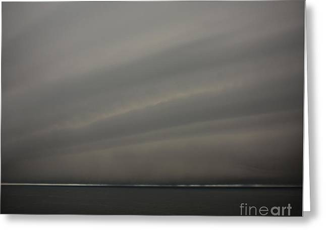 Under The Weather Greeting Card by Paul Davenport