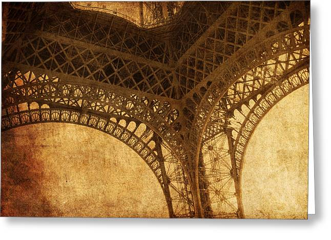 Under Tower Greeting Card by Andrew Paranavitana