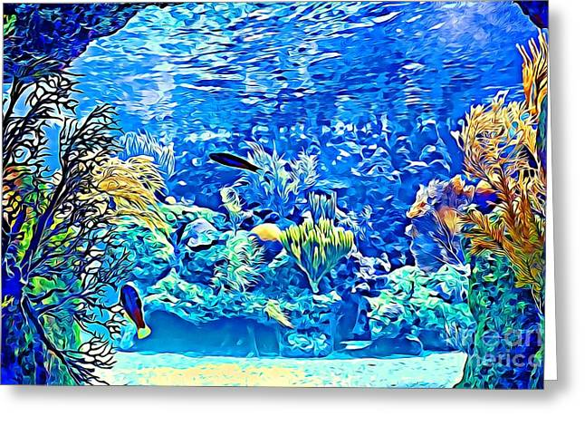 Under Water Greeting Card