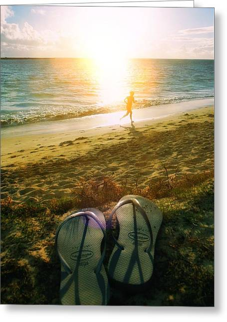 Underachievers Paradise Greeting Card by JAMART Photography