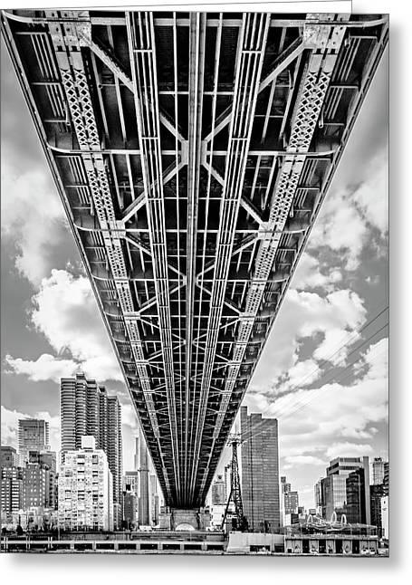 Underneath The Queensboro Bridge Greeting Card