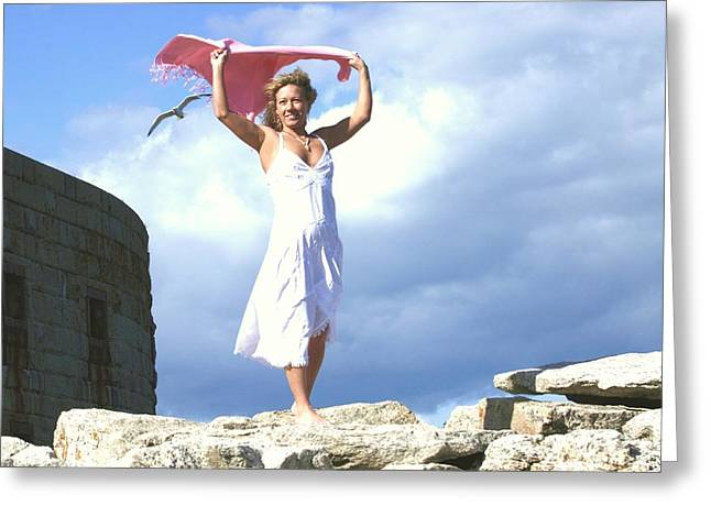 Understanding The Power Of The Wind. Greeting Card