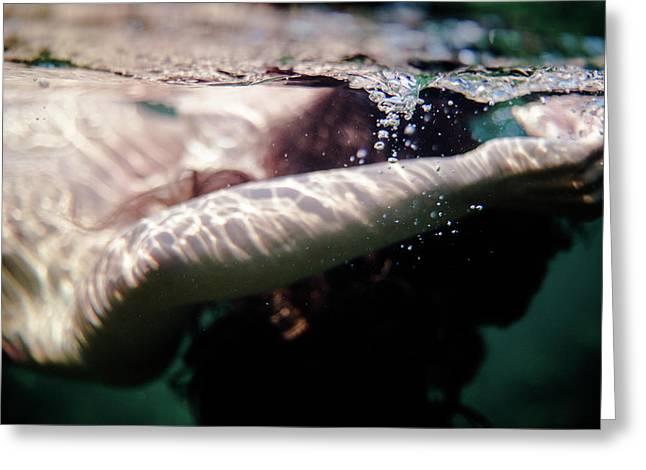 Underwater Detail Greeting Card