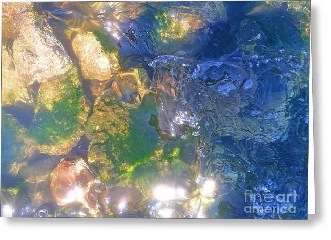 Underwater Magic Greeting Card by Cindy Lee Longhini