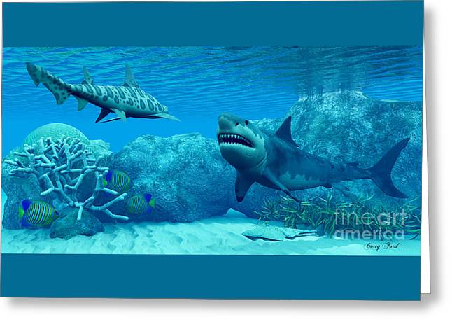 Underwater World Greeting Card by Corey Ford