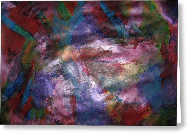 Undiminished Intensity Greeting Card by Paula Andrea Pyle