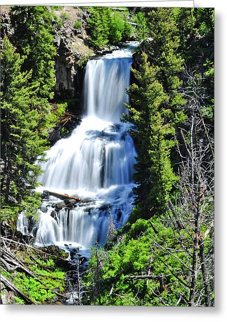 Undine Falls Greeting Card