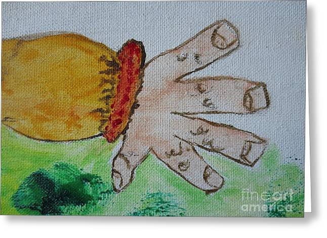 Une Main / A Hand Greeting Card