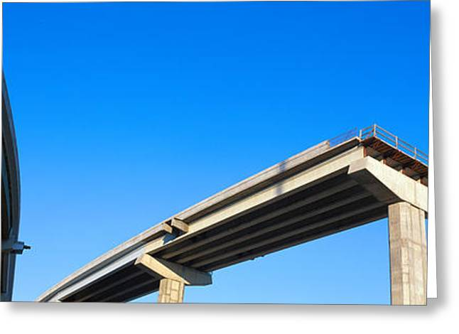 Unfinished Freeway Ramp Greeting Card by Panoramic Images