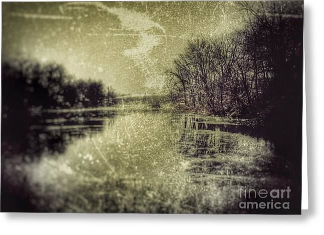 Unfrozen Lake Greeting Card