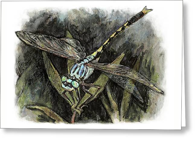 Unicorn Clubtail Greeting Card