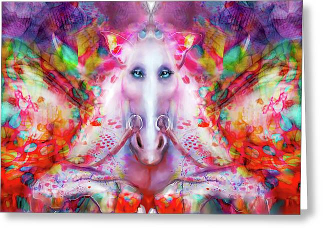 Unicorn Fairy Greeting Card