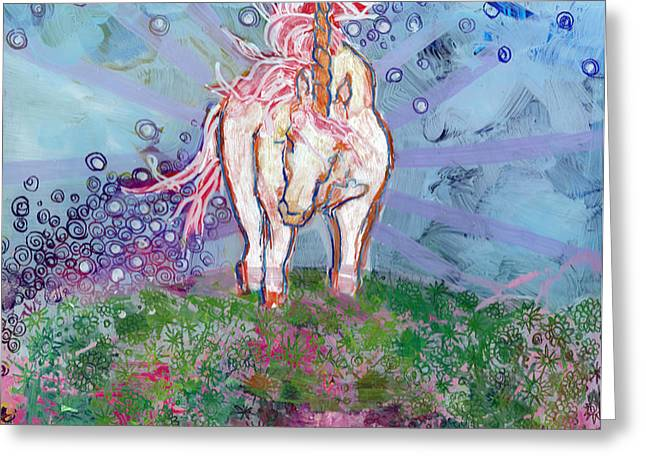 Unicorn Tears Greeting Card