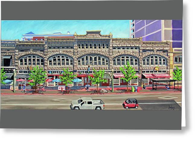 Union Block Building - Boise Greeting Card
