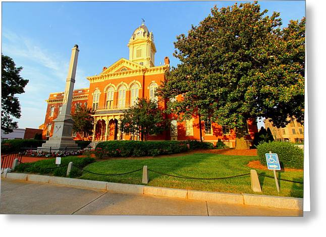 Union County Court House 10 Greeting Card