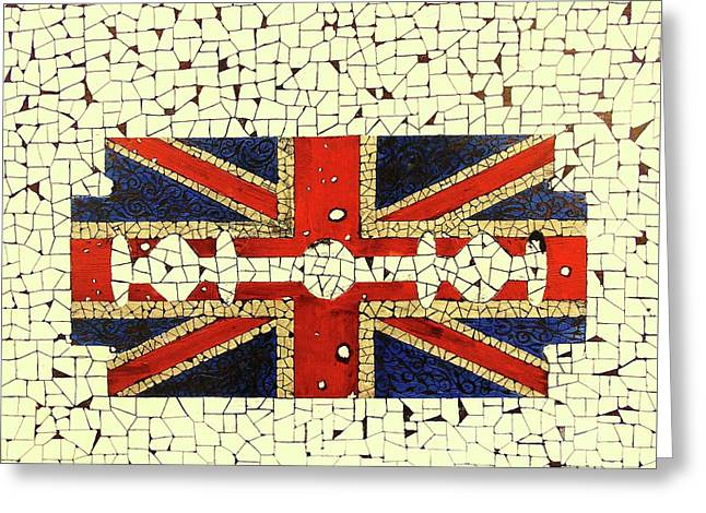 Union Jack 2 Greeting Card