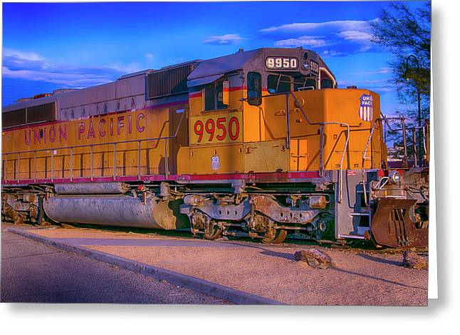 Union Pacific 9950 Greeting Card by Garry Gay
