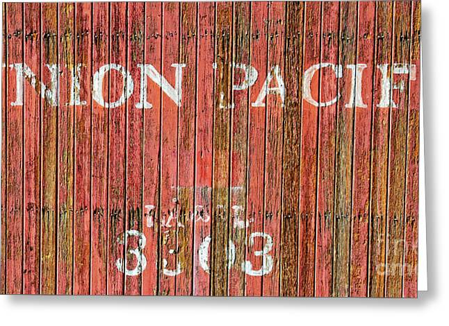 Union Pacific Greeting Card by Charles Dobbs