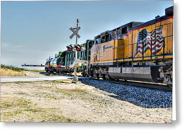 Union Pacific Greeting Card