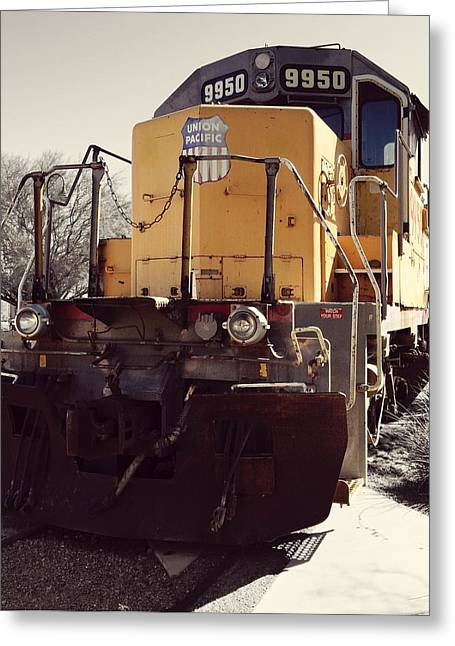 Union Pacific No. 9950 Greeting Card